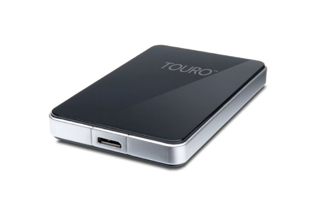 容量1TBで7,200rpmの2.5型外付けHDD「Touro Mobile Pro USB 3.0」