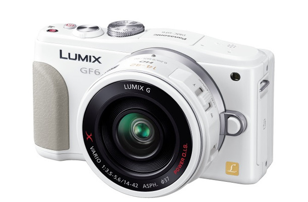 「LUMIX DMC-GF6」ホワイト
