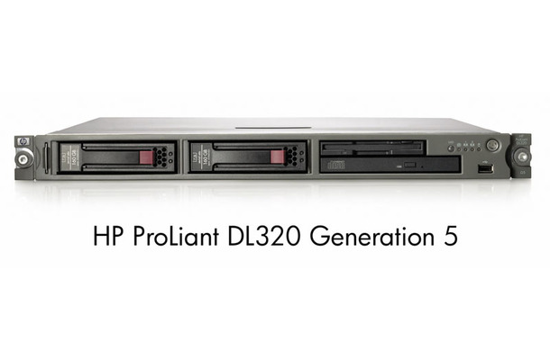 HP ProLiant DL320 Generation 5