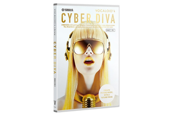 「VOCALOID4 Library CYBER DIVA」パッケージ