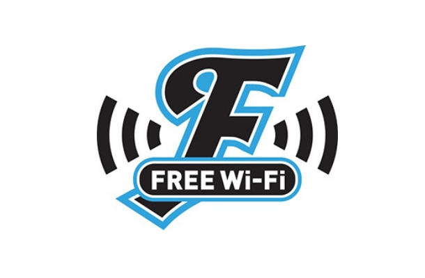 「FRONTALE FREE Wi-Fi」ロゴ