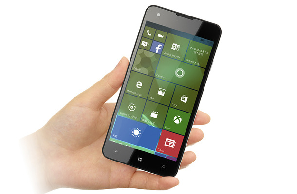 OSにWindows 10 Mobileを搭載した「MADOSMA Q501A」