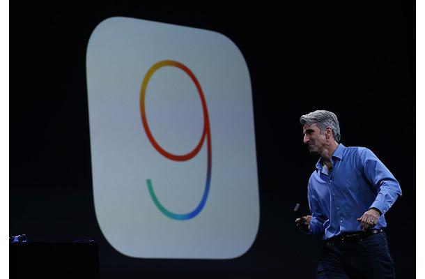 「iOS 9」 (C) Getty Images