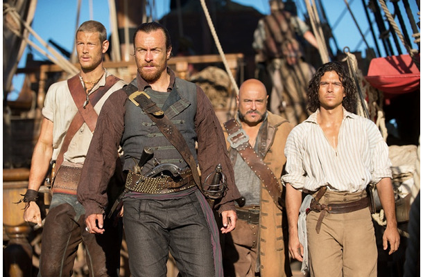 BLACKSAILS(C)2014 Starz Entertainment,LLC