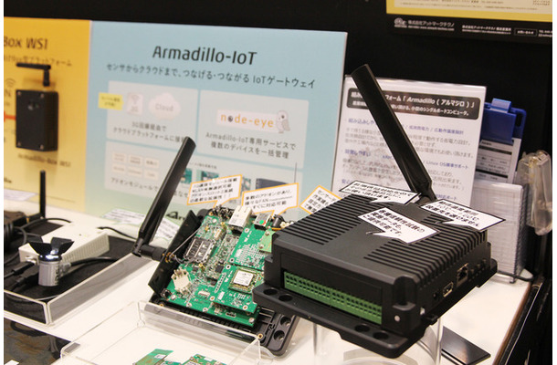 左が「Armadillo-Box WS1」、右が「Armadillo-IoT」