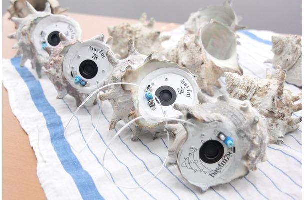 千葉県で獲れた本物のサザエの貝殻を使用した「SAZAE RAIO(サザエラジオ)」が発売される