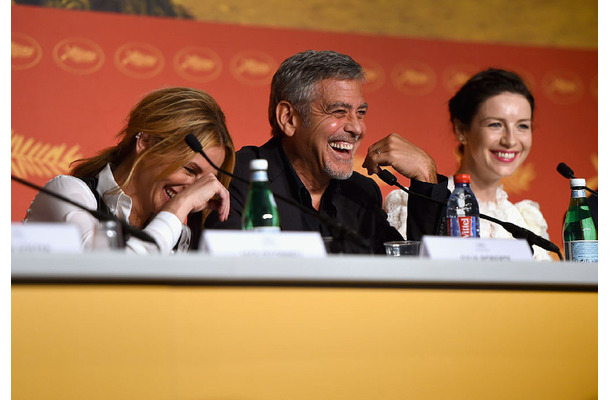 「Money Monster(マネーモンスター)」の記者会見(c)Getty Images