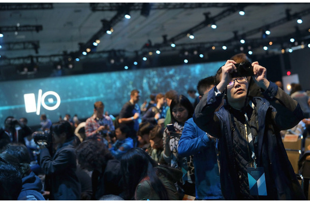 「Google I/O 2015」の様子 (C) Getty Images