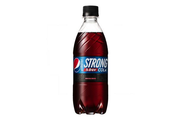ペプシ史上最強の炭酸、強カフェインの「ペプシストロング ...