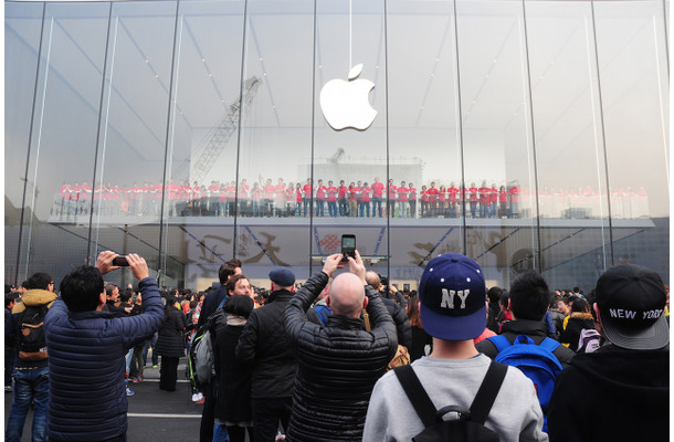 Appleの直営店 (C)Getty Images
