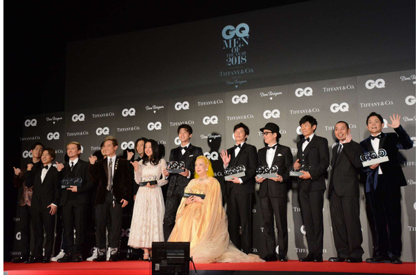 「GQ MEN OF THE YEAR 2018」授賞式【編集部】