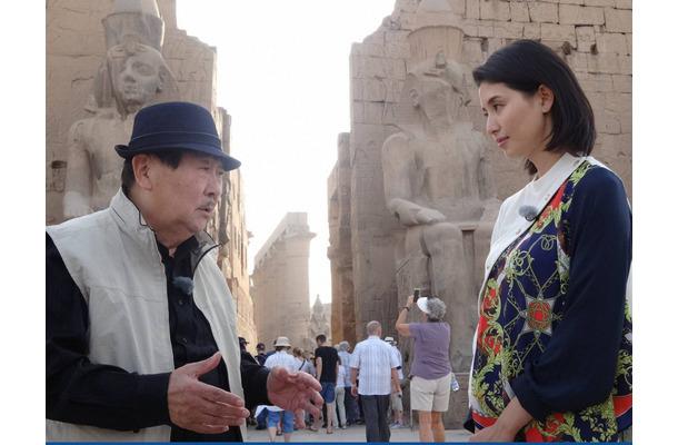 橋本マナミ、ピラミッドの謎にワクワク!「衝撃でした」\u2026\u2026『真相