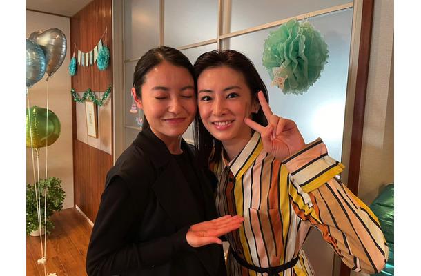 リコカツ』北川景子&田辺桃子、美女2ショットが公開に   RBB TODAY