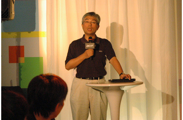President of IT Products Global OperationのJim Wong氏