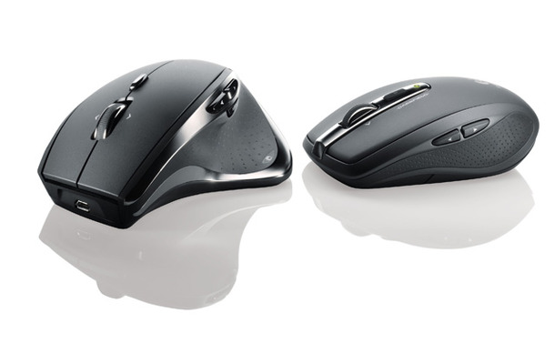 ガラスでの使用を可能にしたマウスLogicool Performance Mouse M950/Logicool Anywhere Mouse M905