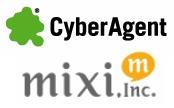 サイバーエージェントとミクシィ、ソーシャルアプリ事業会社「グレンジ」を共同設立 画像