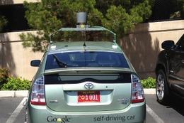Googleの無人自動車にプレート発行……米ネバダ 画像