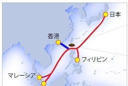 アジア主要都市をつなぐ光海底ケーブル「Asia Submarine-cable Express」が建設完了 画像