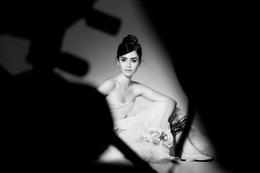 ランコム新ミューズは「白雪姫と鏡の女王」のリリー・コリンズ 画像