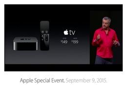 【速報】タッチ操作&Siriで検索できる新型「Apple TV」発表 画像