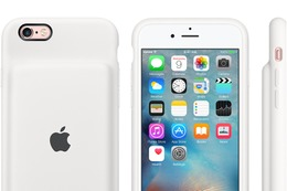 アップル純正が登場! iPhone 6/6s用のバッテリ内蔵ケース発売 画像