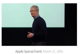 ティム・クックCEOが登場!Appleスペシャルイベントがスタート! 画像