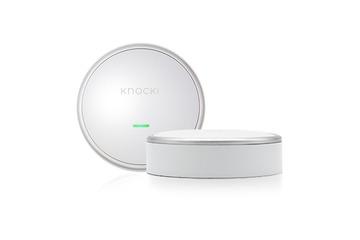 壁やドアをリモコンにしてしまうスマートデバイス「Knocki」 画像