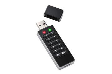 物理ボタンでパスワード設定できるUSBメモリ 画像