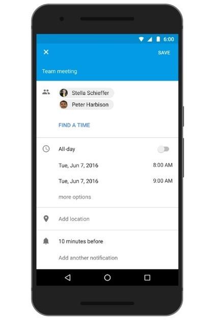 全員の予定を調整してくれる新機能「Find a time」が、GoogleカレンダーのAndroid版に追加