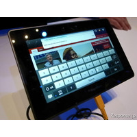 【CES 2011】BlackBerry、4G対応タブレット端末販売へ 画像