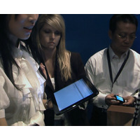 【HP Press Event 上海:動画】WebOS搭載タブレット「HP TouchPad」をデモ 画像