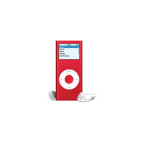 アップル、赤色のiPod nano「iPod nano (PRODUCT) RED Special Edition」を発売 画像