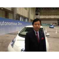 【CEATEC 2013 Vol.27】日産浅見常務、自動運転技術は競争と協調が不可欠 画像