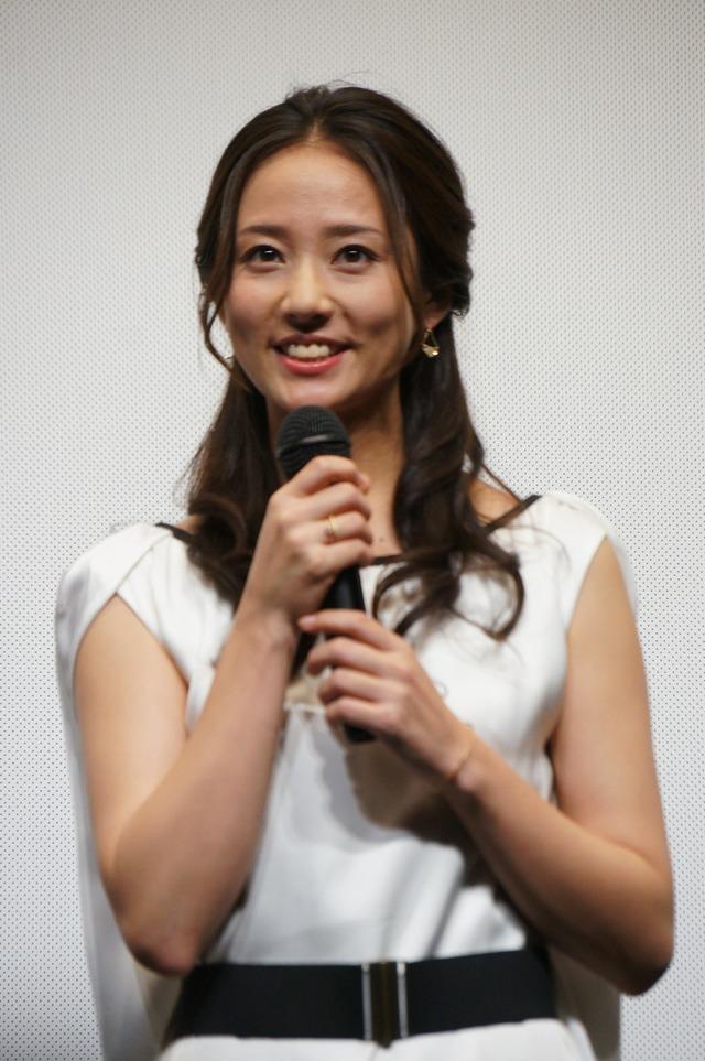 笑顔が可愛い木村文乃