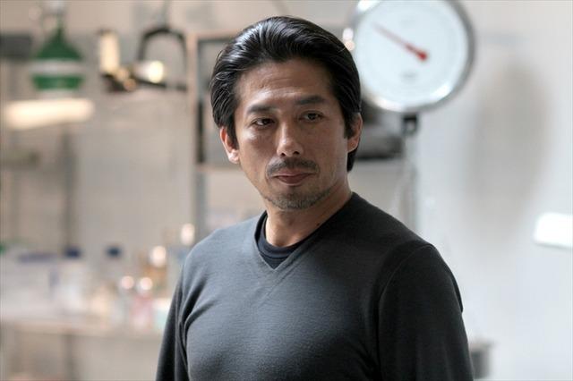ドラマのワンシーンの真田広之さん