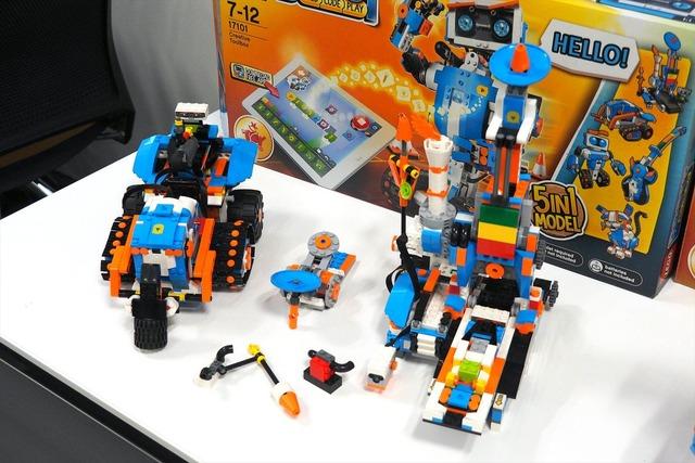 「ブースト車」「ブロック組み立てマシン」