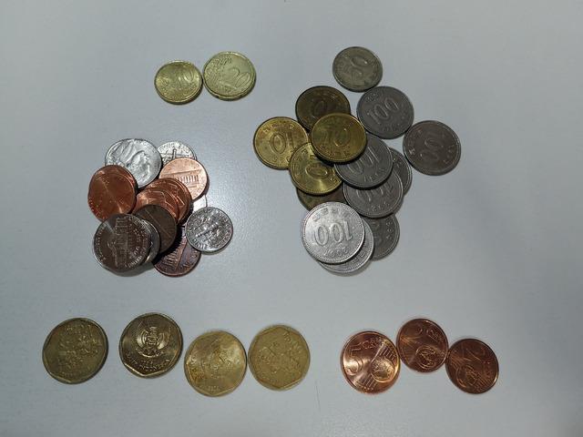 金額にすると、この日のレートで約222円。でも硬貨の数は38枚にも!