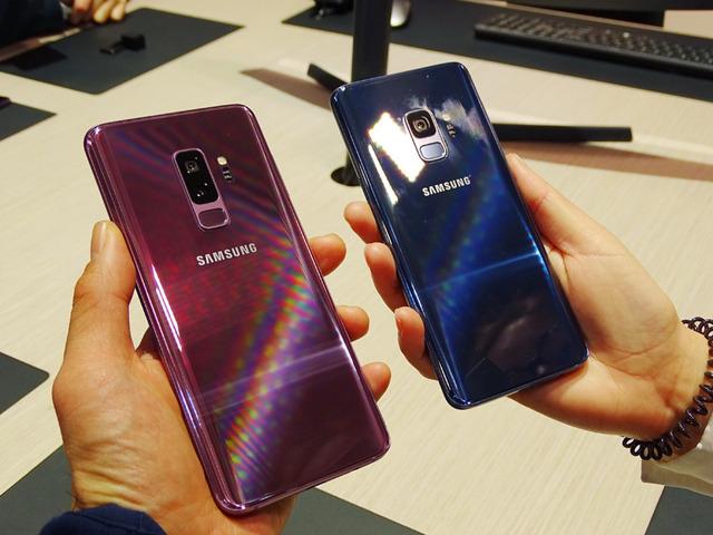 2018年のGalaxy Sシリーズは「S9/S9+」の2機種が登場