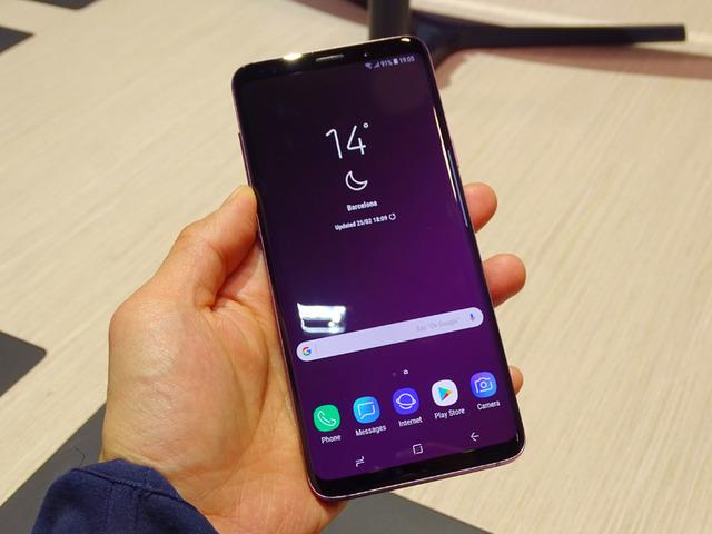約6.2インチの「Galaxy S9+」