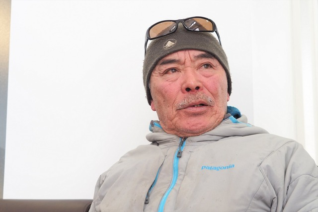 ニセコ雪崩調査所 所長の新谷暁夫さん