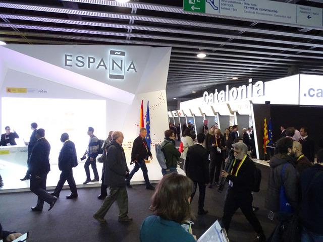 MWCのカタルーニャ州の展示はもっと大規模だ