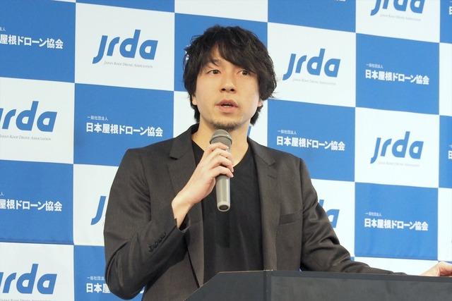日本屋根ドローン協会の理事を務める、CLUE 取締役の夏目和樹氏