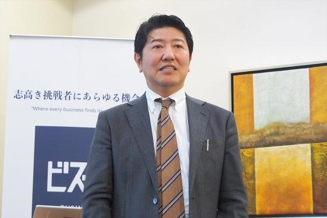 マーキュリアインベストメント 代表取締役の豊島俊弘氏