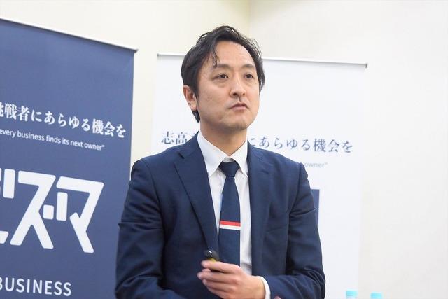 ビジネスマーケット 代表取締役社長の表一剛氏