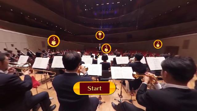 打楽器と指揮者までは、相当な距離がある。打楽器奏者は、この時差を考慮して楽器を叩いている