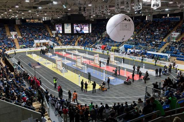 チューリッヒで2016年10月に開催されたサイバスロン 第1回大会の様子。(c)ETH Zurich / Alessandro Della Bella