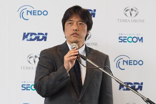 KDDI 商品・CS統括本部 商品戦略部長の澤田拓也氏