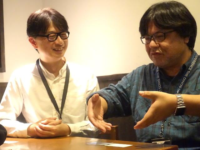 森嶋氏(左)と本山氏(右)