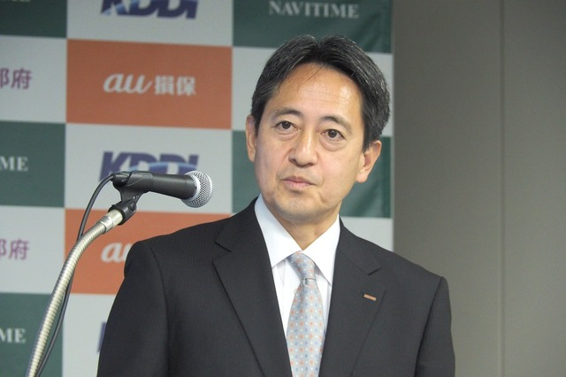 au損害保険 営業開発部 営業企画室長の田中尚氏