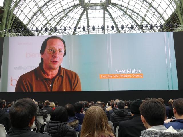 ヨーロッパの大手携帯電話会社4社のエグゼクティブがビデオメッセージを寄せました
